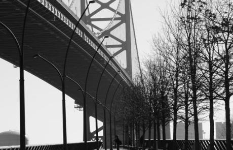 Anita Fanic Bridge in B&W
