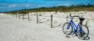 stroup bike on beach