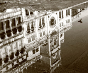 Piazza San Marco - sepia