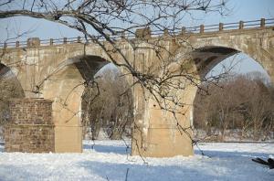 snow der_del river02