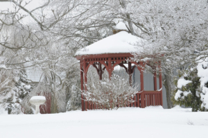 snow_anita fanic_ gazebo in winter