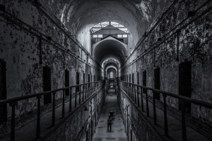 Eastern State Pentitentiary - Frank King BW 3rd