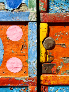 Mendez Colorful Door